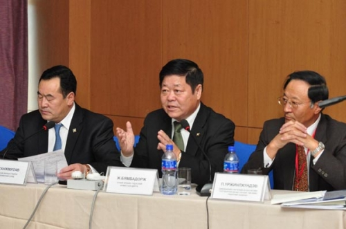 """""""Mining and Human Rights in Mongolia""""International conference 10-11 october 2012, Ulaanbaatar city"""