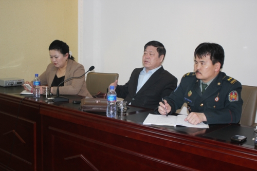 Human rights open day in Darkhan aimag 2013.03.18-20