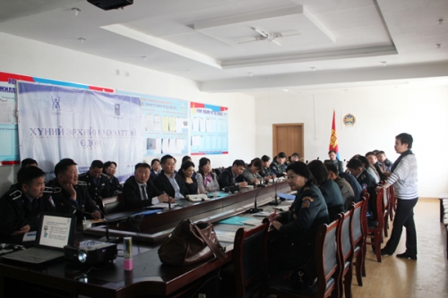 Human rights open day in Khuvsgul aimag 2013.04.03-04.12