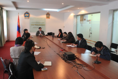 Human rights open day in Arkhangai aimag 2013.04.16-17
