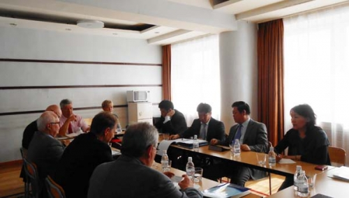 Chief commissioner meets with members of Bundestag