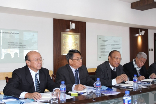 Delegates of the Myanmar National Human Rights Commission visits Mongolia. 2014.09.15-18